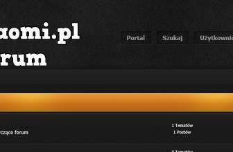 Forum MyXiaomi.pl – zapraszamy do rejestracji