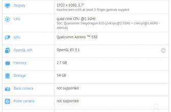 Xiaomi Mi 5 uchwycony w GFXbench