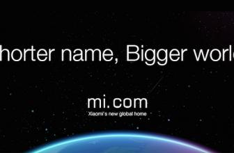 Nowa domena Xiaomi- Mi.com