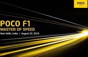 Pocophone F1 od Xiaomi w Indiach już 22 sierpnia