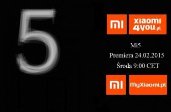 Xiaomi Mi5 premiera – Live Stream